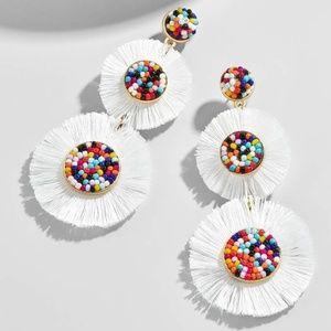BaubleBar Mariette Fringe Drop Earrings
